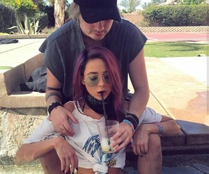 michael clifford, couple, and crystal leigh image
