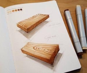 boceto, sketching, and diseno image