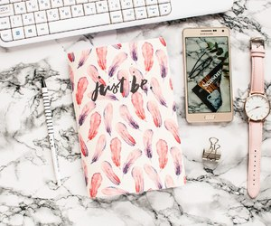 notebook, stationary, and sea_inside image