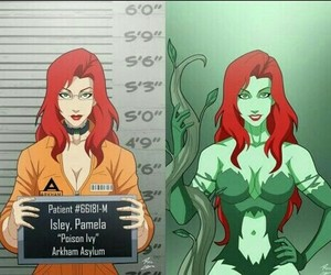 batman, beautiful, and poison ivy image