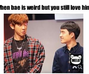 bae, exo, and kpop image