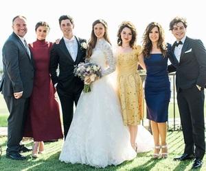 selena gomez, wedding, and david henrie image