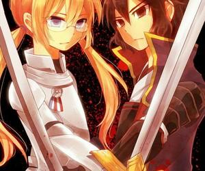 fan art, sword, and inazuma eleven image
