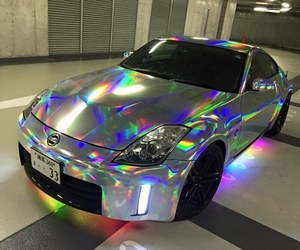 holographic, car, and alternative image