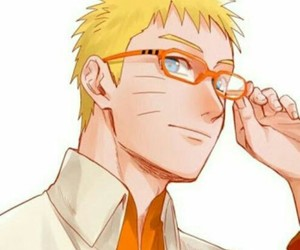 naruto, anime, and glasses image