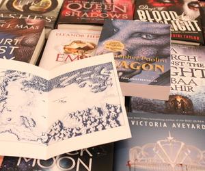 books, eragon, and maps image