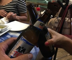cerveza, cheers, and drinks image