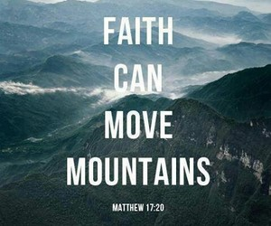 faith, god, and mountains image