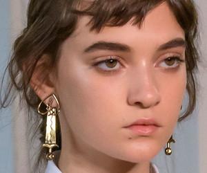 beauty, model, and runway image