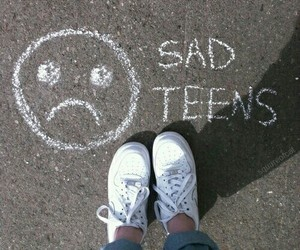 sad, grunge, and teens image