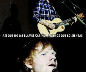 ed sheeran and love image