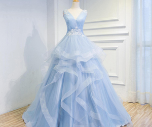 fairytale, wedding, and prom gowns image