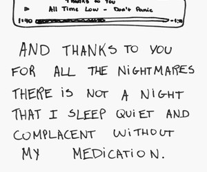 all time low, Lyrics, and thanks to you image
