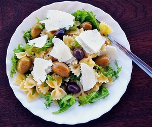 delicious, salad, and food image
