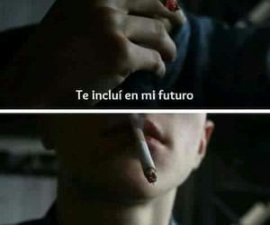 frases, futuro, and smoke image