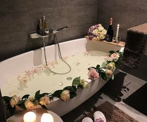 flowers, home, and relax image