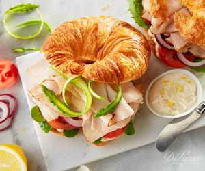 fast food, food, and ham image
