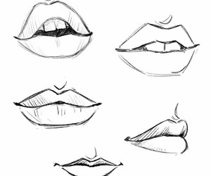 how to, mouth, and how to draw image