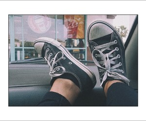 converse, unrelated, and shoes image