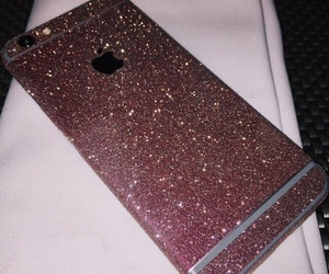 case, pink, and glitter image
