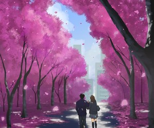 love, art, and pink image