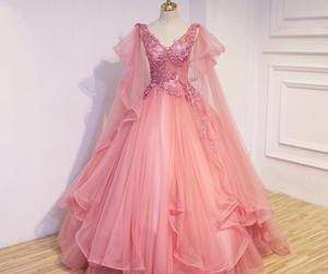 cape, wedding dress, and bridal gowns image