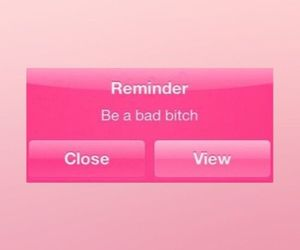 pink and reminder image
