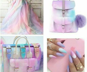 😍, pastels, and pink image
