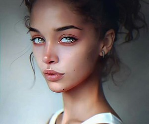girl, beautiful, and beauty image