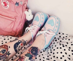 kawaii, tattoo, and lolita image