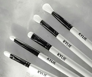 makeup, kylie, and white image