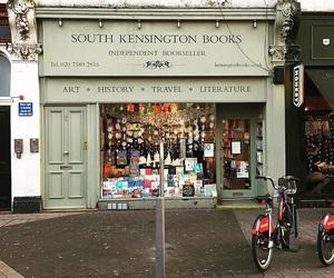 book shop, london, and south kensington image