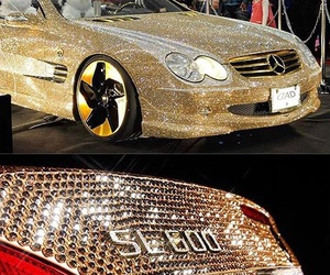 benz, bling bling, and car image