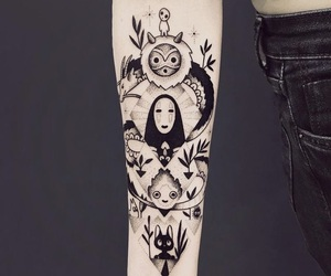 tattoo, spirited away, and anime image