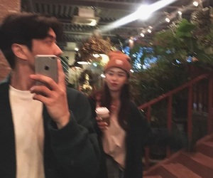 asian, ulzzang couple, and tumblr image