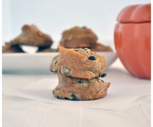 healthy, flourless, and pumpkin cookies image