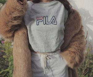 fashion, Fila, and outfit image