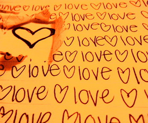 heart, Paper, and rip image