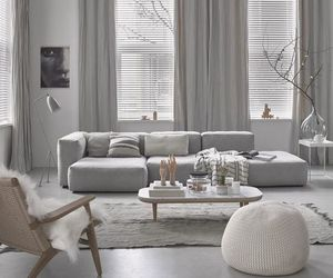 home, décoration, and white image
