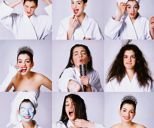 princess and Anne Hathaway image