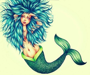 sirena, funny pictures, and leyenda image