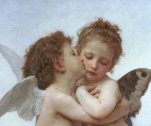 art, baby angels, and victorian art image