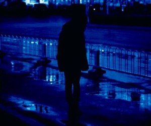 blue, grunge, and night image