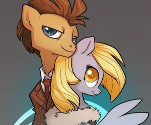 doctor who, MLP, and pony image