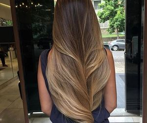 hair, perfect, and goals image