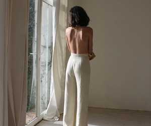 girl, white fashion, and pretty image