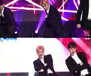 produce 101, kang daniel, and cutie pink image