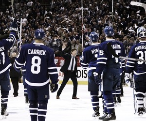 Ice Hockey, nhl, and toronto maple leafs image
