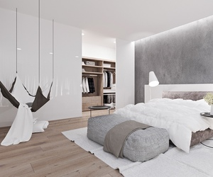 bedroom, decor, and interior design image