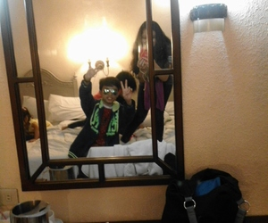 me, mirror, and mirror shot image